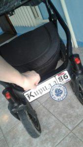номер на коляску - твойзнак.рф